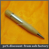 promotional gift bulk 64GB wood usb drive with link pen