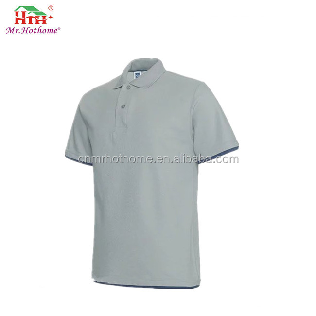 Plain Work Uniform Breathable Polo Shirts