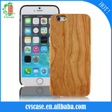 CVS New Arrival Wood Bamboo +PC Blank Phone Case For Iphone 6 Case.