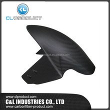 Customized LOGO Carbon fiber motorcycle front fender