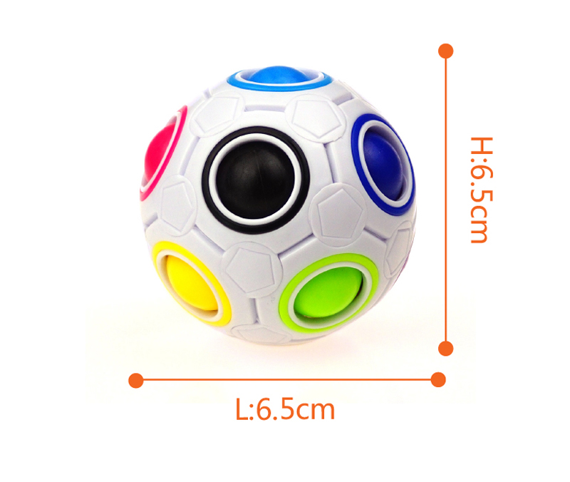 Hot sale ball sphere puzzle cube rainbow magic ball for kids/adults fun toy