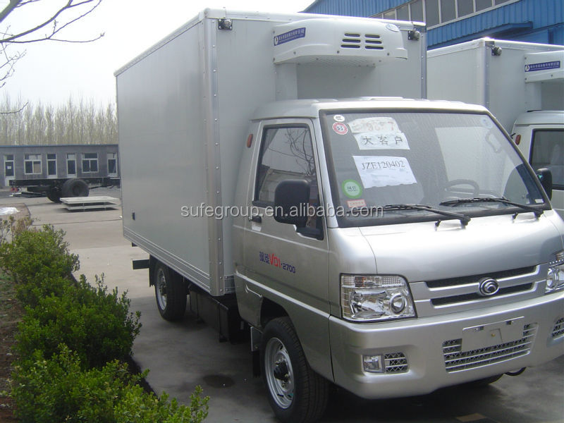 CKD van body/CKD refrigerated truck bodyCKD Cargo Truck Bodies