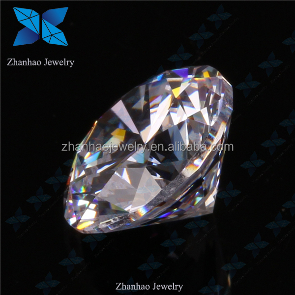AAAAAA+ Synthetic Russia Diamond round shape white color 8 hearts 8 arrows cubic zirconia CZ