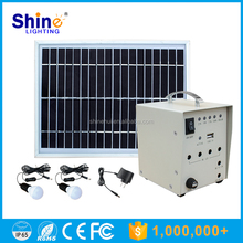 50W 40W High quality CE, RoHS approvaled small solar lighting kits system for home