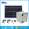 High quality CE, RoHS approvaled Solar lighting system for home use