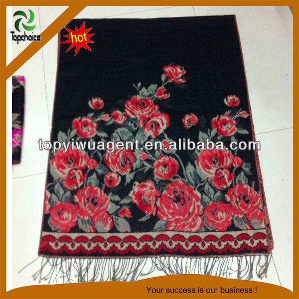 Lady stoles and shawl with tassels