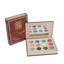 12 colors colorful makeup custom cardboard eyeshadow palette packaging box