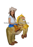 Inflatable Cowboy Party Costume