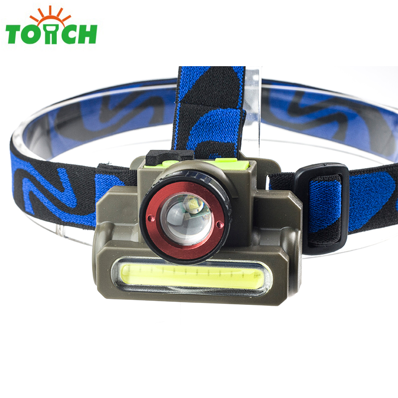 super bright XPE+COB bulb led lightweight headlamp rotating focus head torch lamp usb rechargeable waterproof headlight