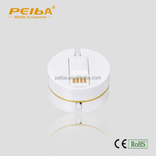 New Style Round Box Mobile Phone Data Cable 80CM 3 in 1 Phone Charger Cable