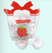 strawberry box designlovely jelly compressed mask