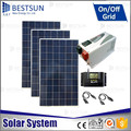 BESTSUN 3000w Off Grid Hybrid Wind Power Solar Energy Home System