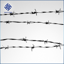 factory supply barbed wire rope for guard