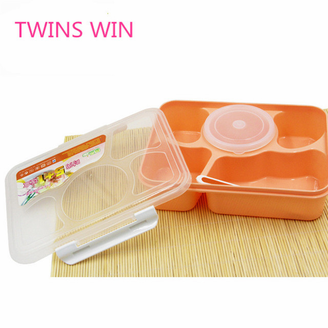 Factory Price Personalized food container wholesale Customized Color plastic lunch boxes bento for girls 059