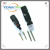 MC4 Connector male and female used for Solar Cable 14AWG 12AWG 10AWG Waterproof TUV CE Approved