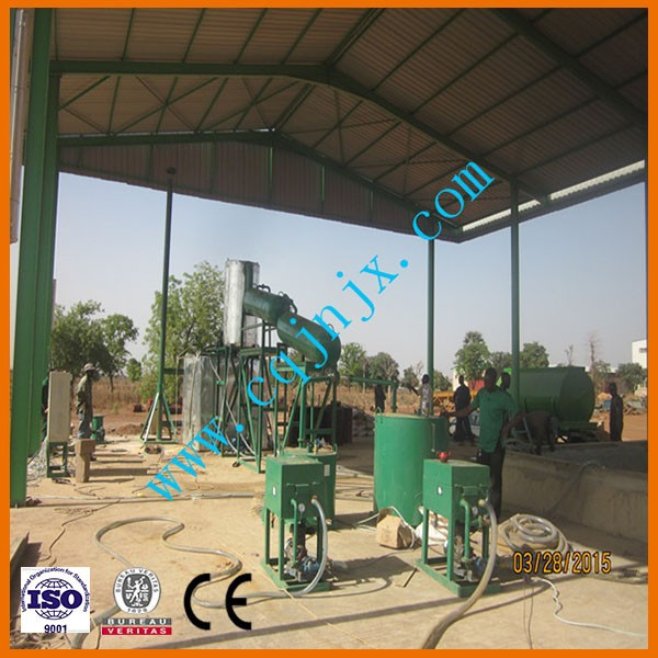China Chongqing JNC Industry Vacuum Used Lubrication Oil Refinement