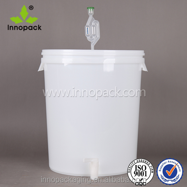 wholesale 30L plastic beer keg with spigot and airlock