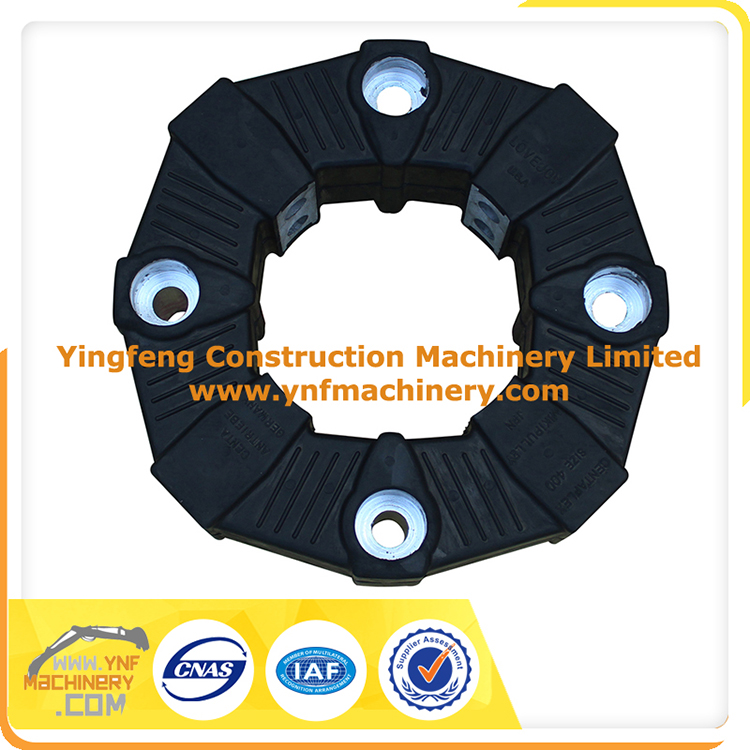 Standard Original Quality Excavator Shaft Coupling Flexible Rubber