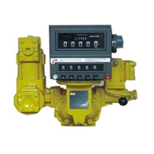 positive displacement fuel tank truck oil flow meter liquid controls flowmeter