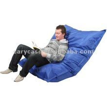 navy blue waterproof outdoor beanbag, relaxing bean bag reading chair