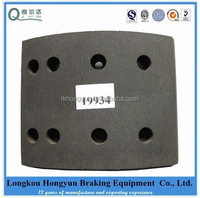 19934 brake lining for Renault truck parts