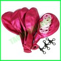 12 inches Fuchsia color latex balloons for Wedding decoration
