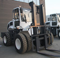 6 ton hydraulic diesel Off-road forklift with low price