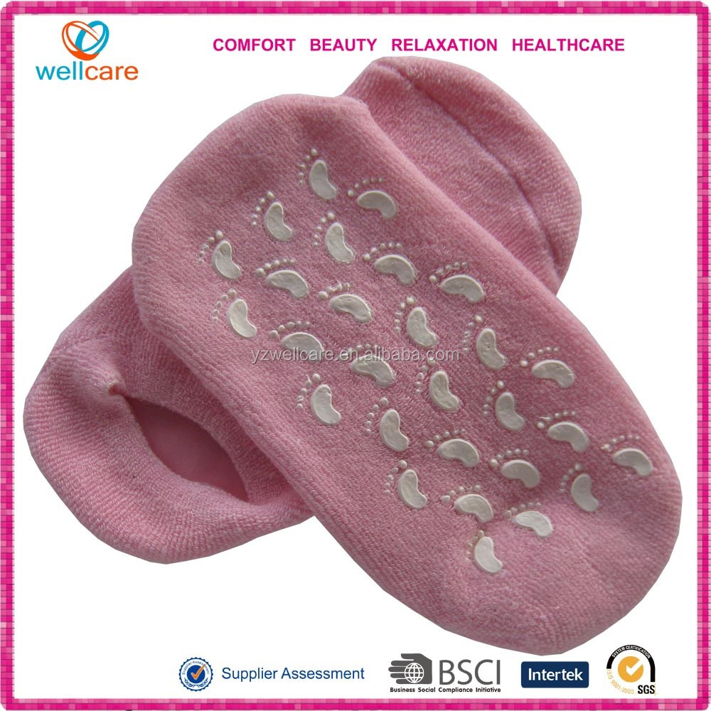 Asia Moisture gel socks and gloves manufacturer calleidic socks and goves factory