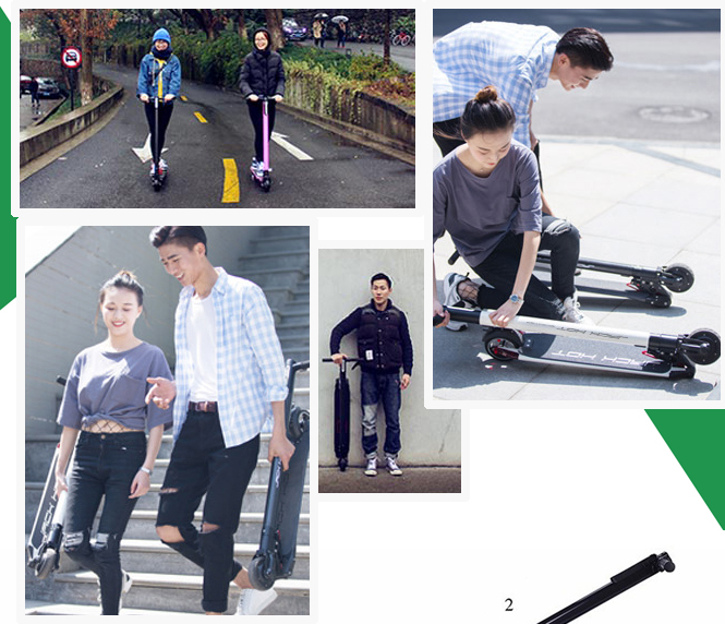 Leadway new design smart wheel scooter(L8)