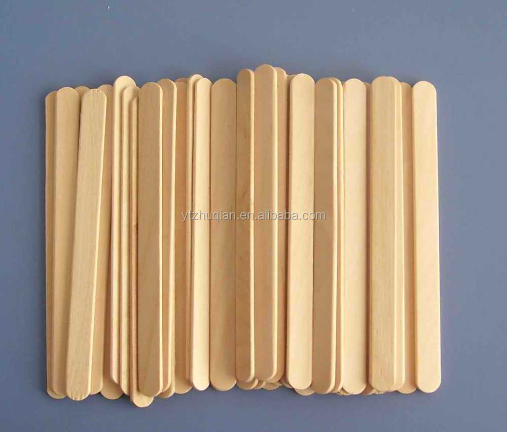 wood,Wood Material and Ice Cream Tools Type ice cream stick