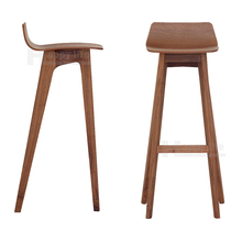 Unique design bar furniture high american wood bar chair
