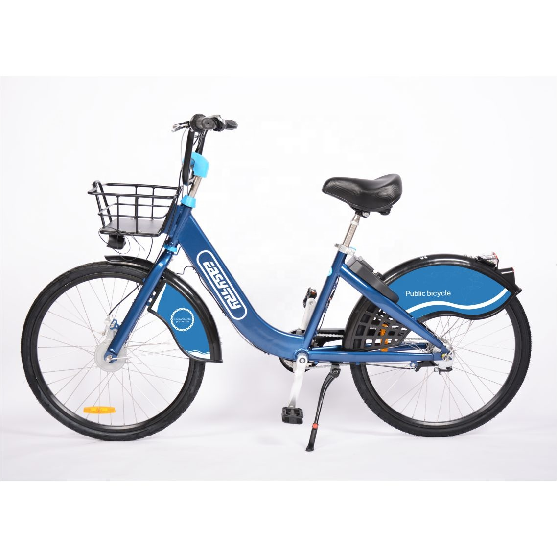 Aluminum alloy 26'' internal 3 speed public bicycle solid tire sharing <strong>bike</strong>
