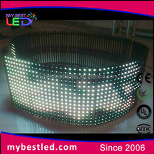 super light weight outdoor p10mm p16mm p20mm soft led video curtain