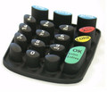 New hot-sale soft silicone rubber keypad button