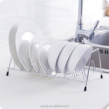 Kitchen Stainless Steel Hanging Bowl Set Shelf Plate Drainage Storage Rack