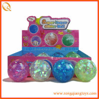 2014 new kids toys 7.5cm magic flashing light bouncing ball toy new kids products toys for 2014 SP72009710-8