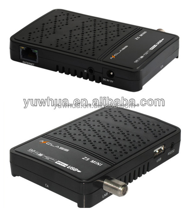 Stable functions tv box Azclass Z5 Mini satellite hd receiver with arabic iptv channels pk duosat prodigy nano hd