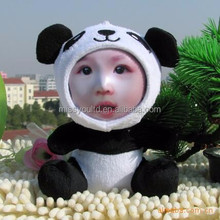 Funny DIY Panda Photo Face Toy 3D Printer Doll