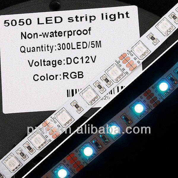 Wholesale smd 5050 30 rgb led strip lights 7.2w/m 14.4w/m quite cheap price
