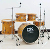 Baron 5pcs jazz drum set wood hoop with high quality retro drum kit