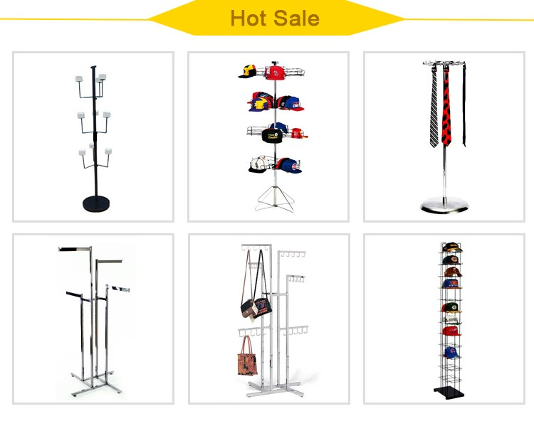 Customize Free Stand Metal Material Men's Shoes Display Stand Skate Shoes Display Rack