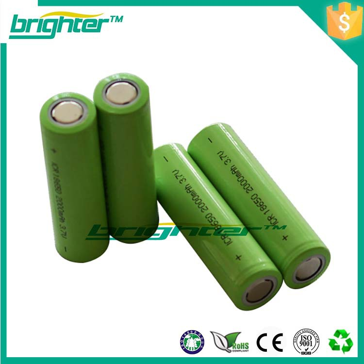 export imr 18650 3.6v lithium ion battery