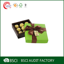Personalized cheap custom handmade paper chocolate boxes