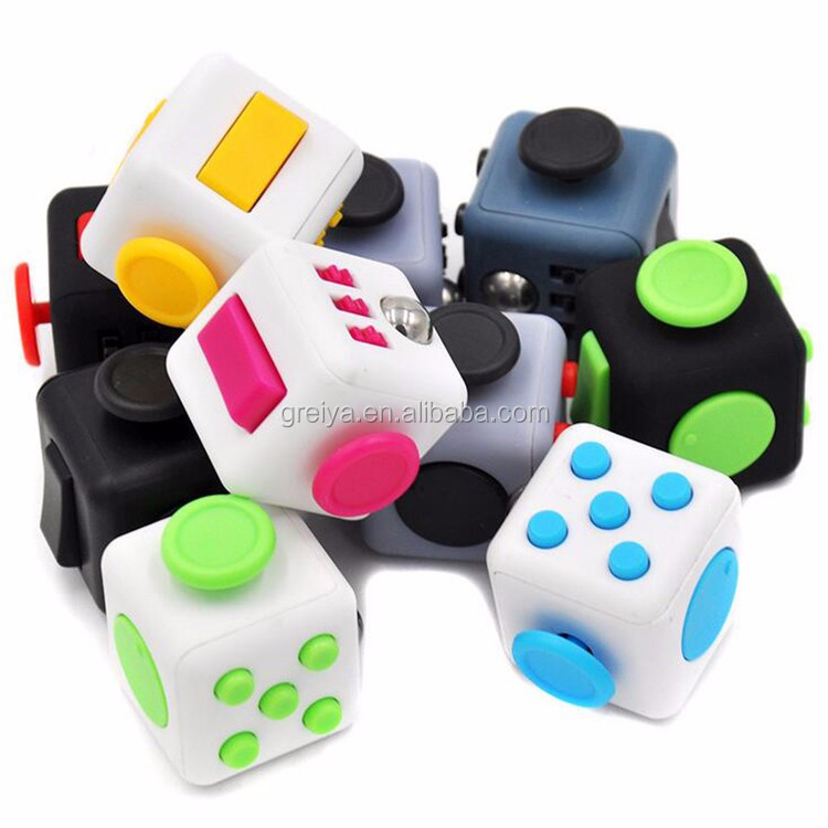 Top quality cheap price adult fidget cube shenzhen factory large stock