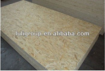 Timber price melamine laminated particle board osb for Particle board laminate finish