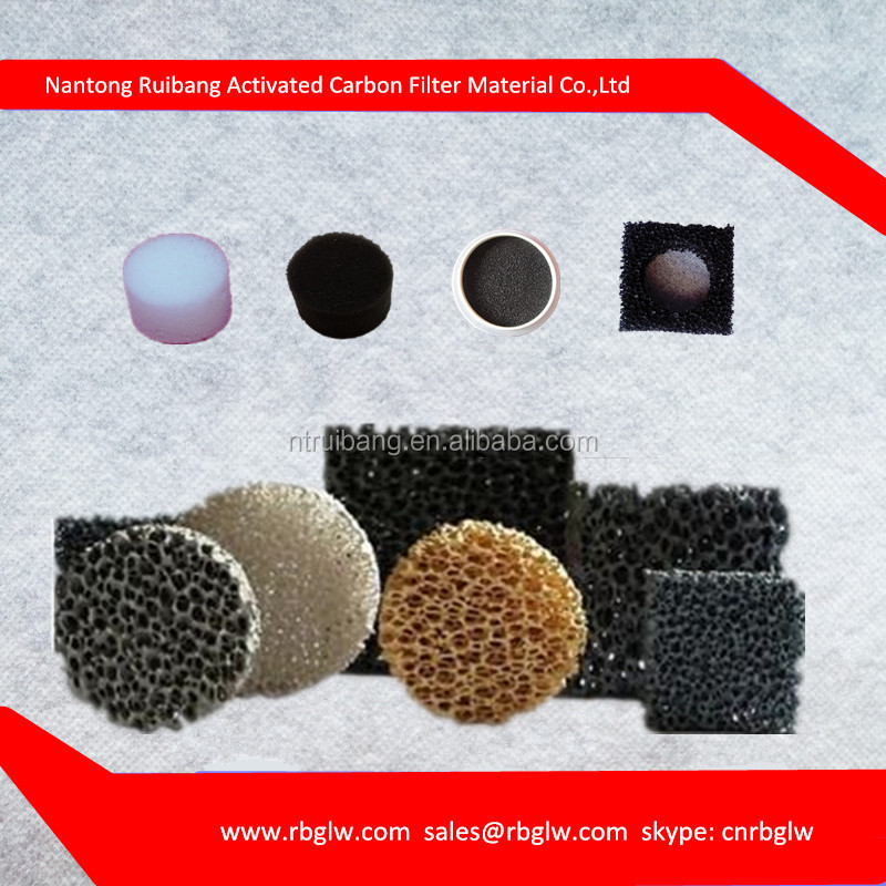 manufacturing activated Carchoal auto air filter foam