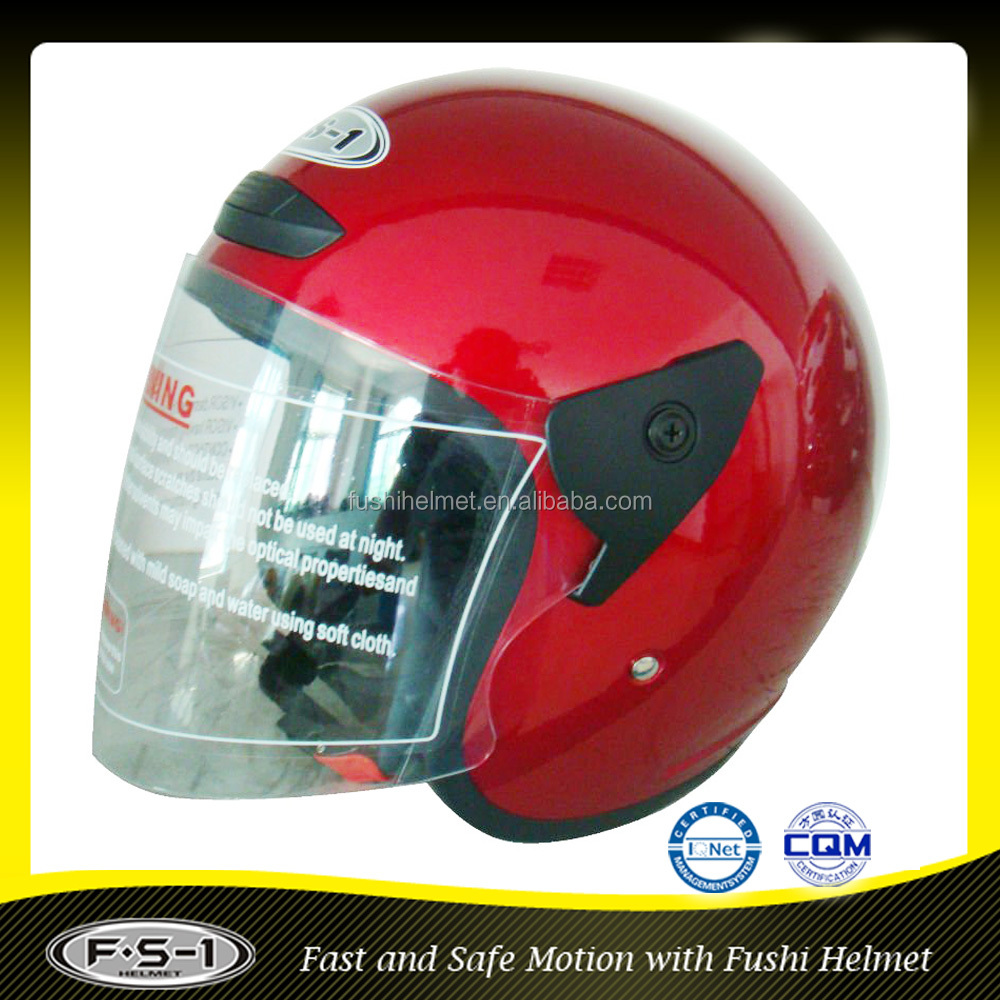 Lightweight wholesale open face motorcycle helmet for decals motor car helmet new model
