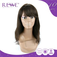 Preferential Price Real Human Hair Human Hair Wig 200 Density 36 3/4 Piece