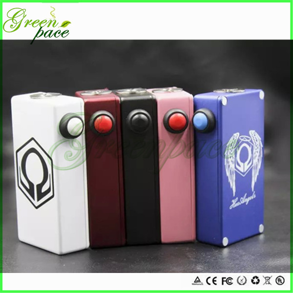 2016 hot selling mech box mod 180w hexohm v2 mod quality Japan chip hexohm angel box mod