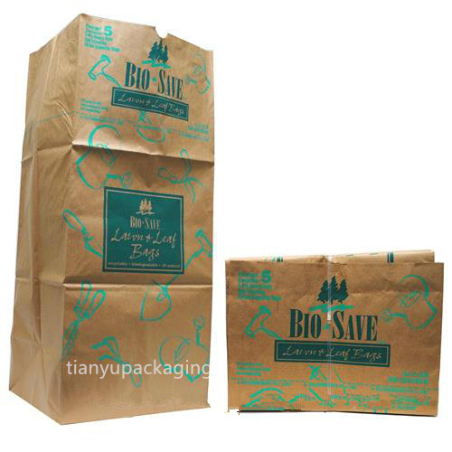 Biodegradable 30 Gallon Paper Garden Leaf Bag Product On Alibaba